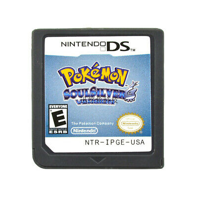 Pokemon Platinum Diamond HeartGold SoulSilver Game Cards 3DS NDSI XL USA Version 5