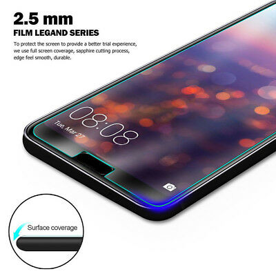For Huawei P8 9 10 20 Lite Tempered Glass Screen Protector Protective Film 2Pcs