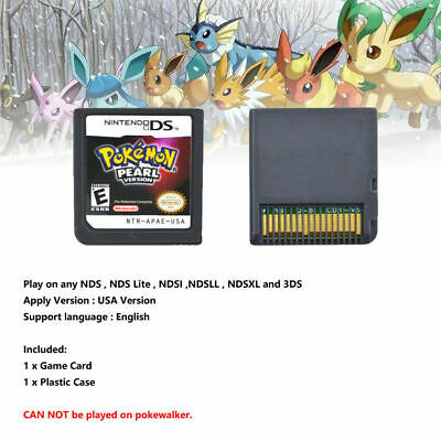 Pokemon HeartGold / SoulSilver Version Game Card Fits Nintendo 3DS NDSI NDS Lite 8