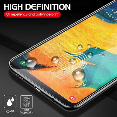 For Samsung Galaxy A70 A50 40 Tempered Glass Protective Screen Protector Film 2X 4