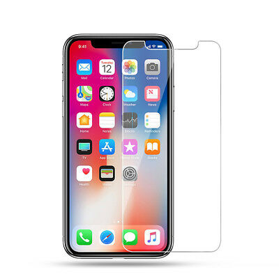 100% Protection Verre trempé écran + Coque iPhone Xs Max XR X 8 Plus 7 6s 5s SE 2