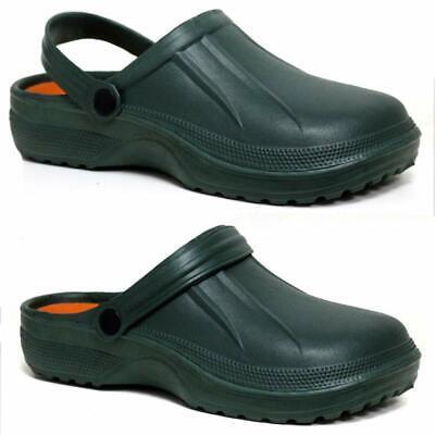 Mens Clogs Mules Slipper Nursing Garden Beach Sandals Hospital Rubber Pool Shoes 4