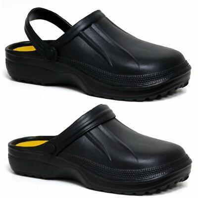 Mens Clogs Mules Slipper Nursing Garden Beach Sandals Hospital Rubber Pool Shoes 2