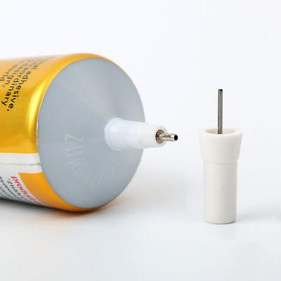 50ml T-7000 needle type phone screen black glue DIY craft jewelry adhesive GREAT 6