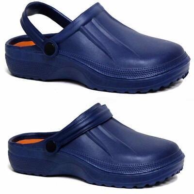 Mens Clogs Mules Slipper Nursing Garden Beach Sandals Hospital Rubber Pool Shoes 5