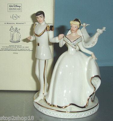 LENOX DISNEY WEDDING CAKE TOPPER Cinderella & Prince Charming ...