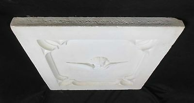 Antique Architectural Religious Italian Carved Marble Altar Angel/Cherub PANEL#2 10