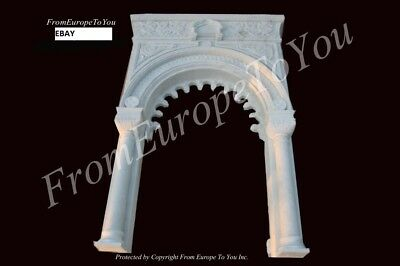 The Best Hand Carved Marble Gothic Doorway Surround