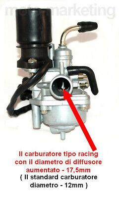 UNTIMERO 70cc Modifica Cilindro Testa CARBURATORE Kit per Peugeot Vivacity a07 50