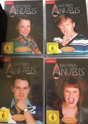 Das Haus Anubis Staffel 1 Teil 1 Folge 1 61 4 Dvds Eur 15 00