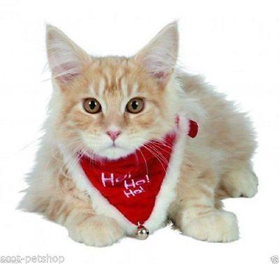 New Christmas Dog Or Cat Dress Up Red Collar & Neckerchief Bandana Neki 4 Sizes 2