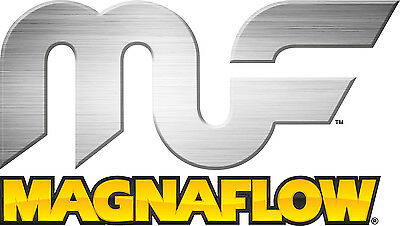 Magnaflow 91036 Single Oval Universal Catalytic Coverter w//2.5/' IN//OUT