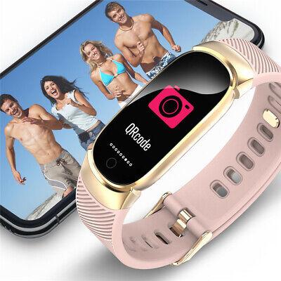 Waterproof Smart Bracelet IP67 Heart Rate Blood Pressure Fitness Tracker Watch 2