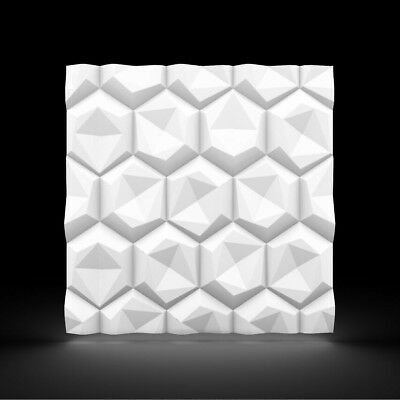 Luxury 3D Wall Ceiling Panel HEXAGON 60 x 60 Decorative Cladding Wallpaper Tile