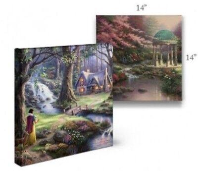 Thomas Kinkade Studios Winnie the Pooh I 14 x 14 Gallery Wrapped Canvas Disney 5
