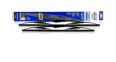"KIA SOUL II 2014-ON Set of windscreen wiper blades alca UNIVERSAL 24/""19/""H"