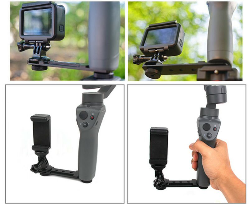 For DJI Osmo Mobile 2/3 Handheld 3Axis Gimbal Stabilizer Holder Smartphone 5
