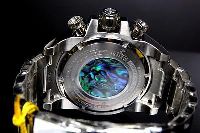 Invicta Reserve Grand Arsenal Octane Abalone Silver Full Size 63mm Watch New 4