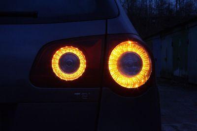 VW Passat led lamp B6 3C Skyline style LED ring lamp Inner Tail Lights bicolor