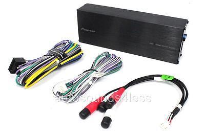 PIONEER GM-D1004 400W 4-CHANNEL DIGITAL SLIM SERIES AMPLIFIER GMD1004 HARLEY/'S