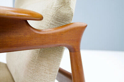 Pair(2) of Teak Lounge Chairs by John Bone Denmark 60s 60er Chair Denmark 9