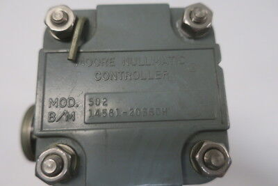 Moore 502 Nullmatic Controller