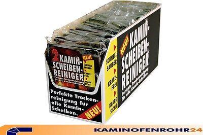 RAKSO Kamin Scheibenreiniger 2er Set mit Schale Ofenscheibe Kaminofenreiniger