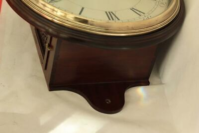 "Early English Georgian 8 Day Verge Fusee 12"" Dial Clock Samuel Mortlock Clapham 11"