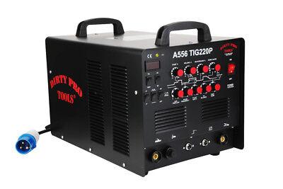 220 Amp 220V Welding Machine Tig Mma Arc Stick 2 In 1 Dc Inverter Welder Pulse 5