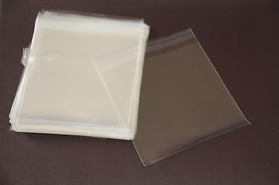 100x Self Adhesive Self Seal Resealable Clear Plastic Cellophane Bags 12x12cm 4