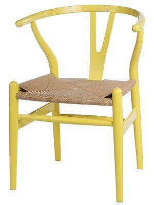 4 Von 6 Sessel Stuhl Replik CH24 Y Chair Wishbone Hans Wegner Designer  Vetrostyle