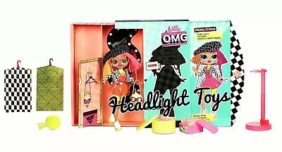 "1 LOL Surprise OMG NEONLICIOUS 10"" Fashion Doll Neon QT Holiday Winter Disco 6"