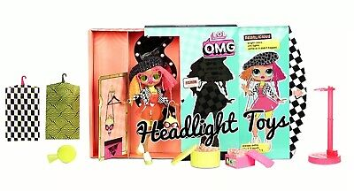 """In Hand 1 LOL Surprise OMG NEONLICIOUS 10"""" Fashion Doll Big Sister Neon QT 5"""