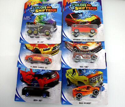 Color Changing Diecast Car 1:64 Hot Wheels COLOR SHIFTERS LOT 3 CARS