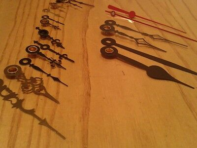 Assorted Quartz Clock Metal hands 10 per pack 5
