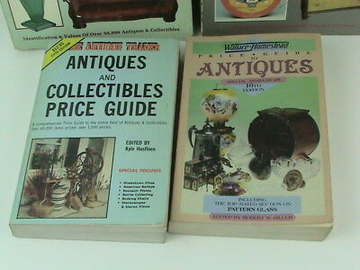 Lot of 5 SCHROEDER'S Antiques and Antique Trader Price Guide Reference Books 2