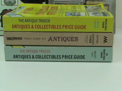 Lot of 5 SCHROEDER'S Antiques and Antique Trader Price Guide Reference Books 4