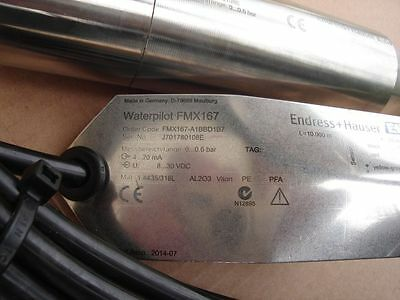 New Endress+Hauser Waterpilot FMX167