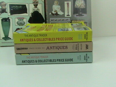 Lot of 5 SCHROEDER'S Antiques and Antique Trader Price Guide Reference Books 5