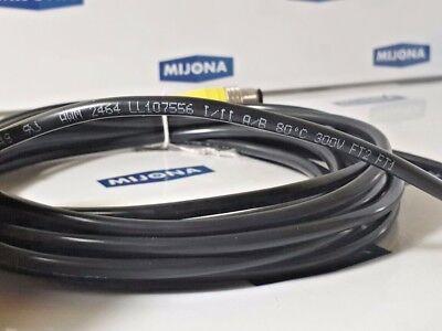 Kabeltemperaturfühler 6mm HFK PVC-5m Kabelfühler Hülsenfühler