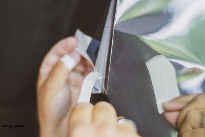 4,92€/m² Spiegelfolie Fensterfolie Spiegel Folie Fenster UV Sichtschutzfolie 9