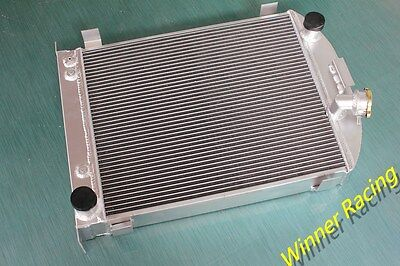 up to 1000HP 70mm radiator for 1932 Ford truck w/Chevy 350 V8 engine