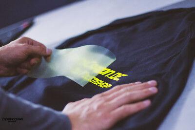 (33,33€/m²) T-Shirt Folie Transferfolie Textilfolie Bügelfolie Poli Tape DIN A4