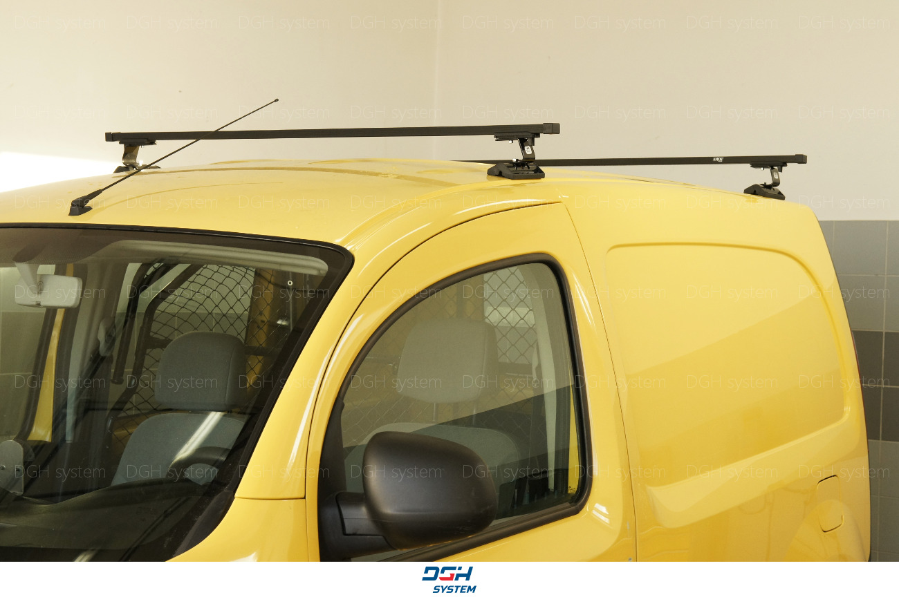 mit Fixpunkten Stahl Schwarz 165cm Dachträger Für Renault Trafic 15