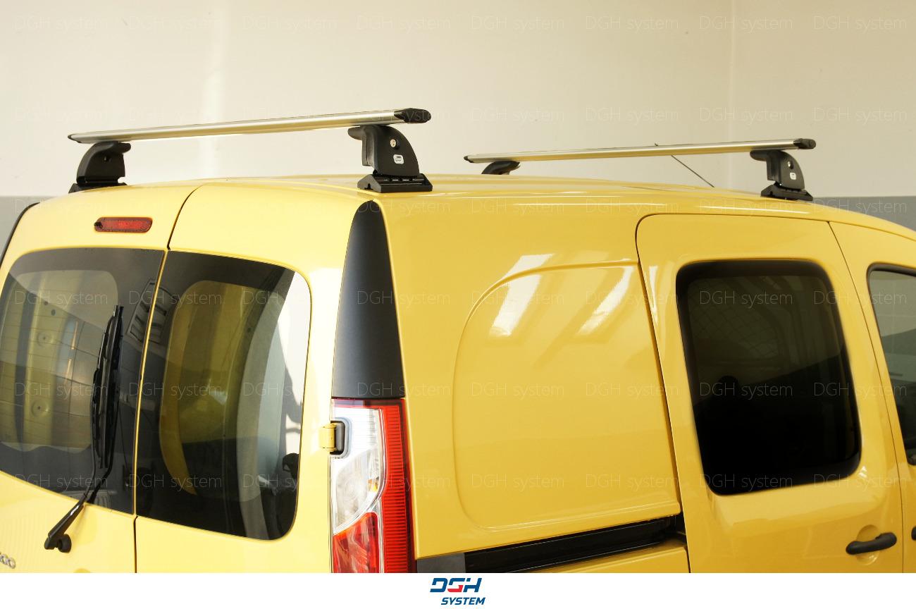 Dachträger Für Opel Vivaro 15 mit Fixpunkten Stahl Schwarz 165cm