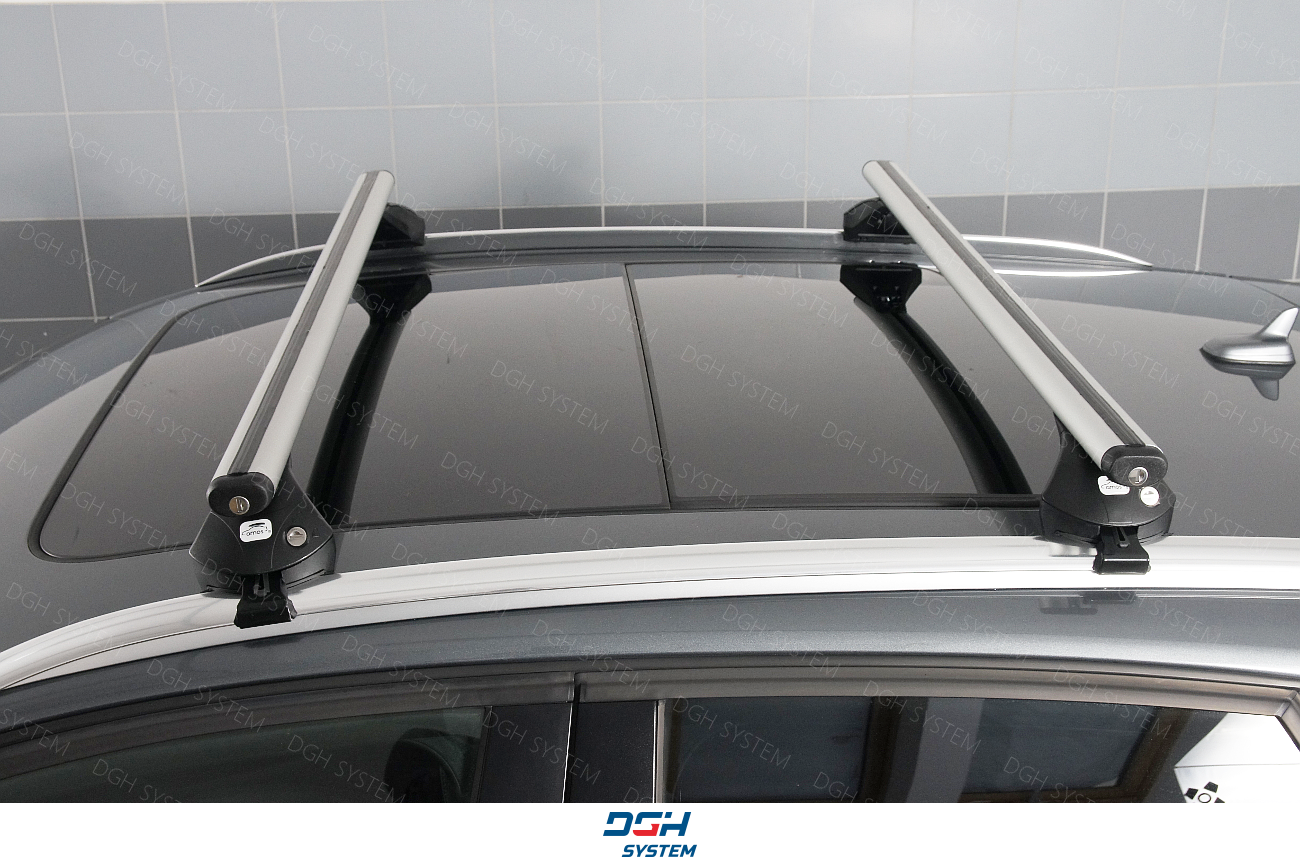 Peugeot 308 SW Kombi 14 Dachträger Relingträger AMOS geschlossener Reling