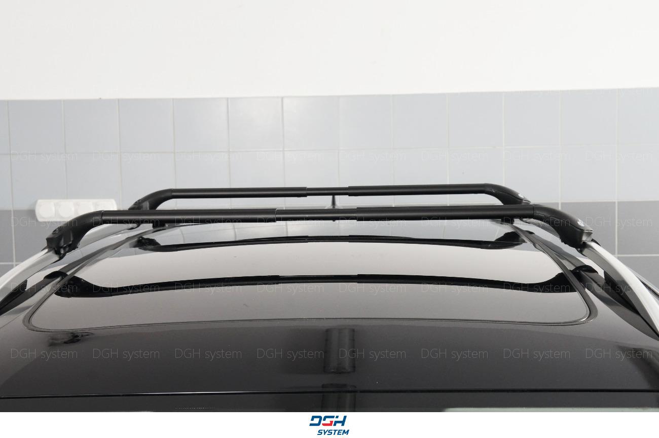 mit offener Dachreling Dachträger schwarz Für Volkswagen VW Sharan I II 96