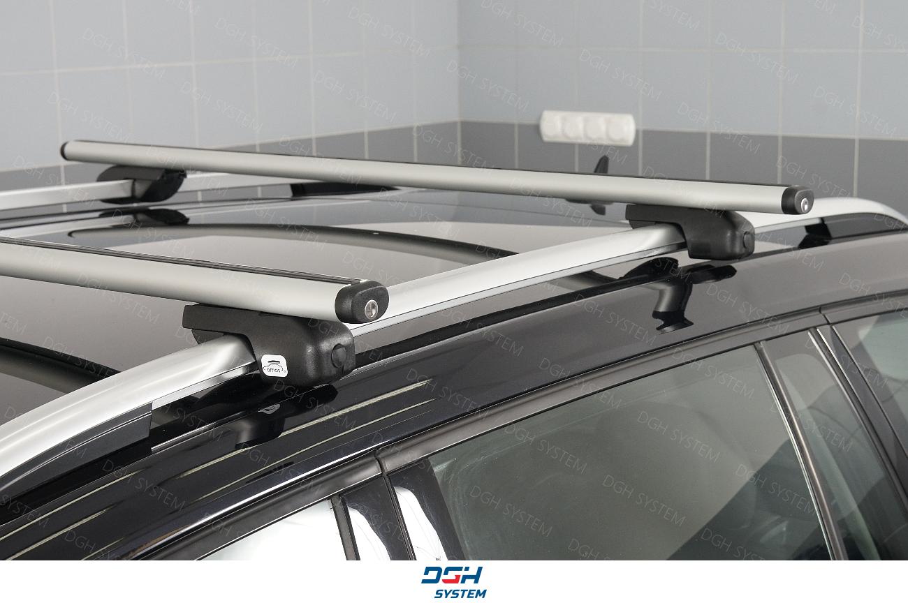 GA7 Für Volkswagen Touran MPV 5-Tür 15-17 Aluminium Dachträger kompl
