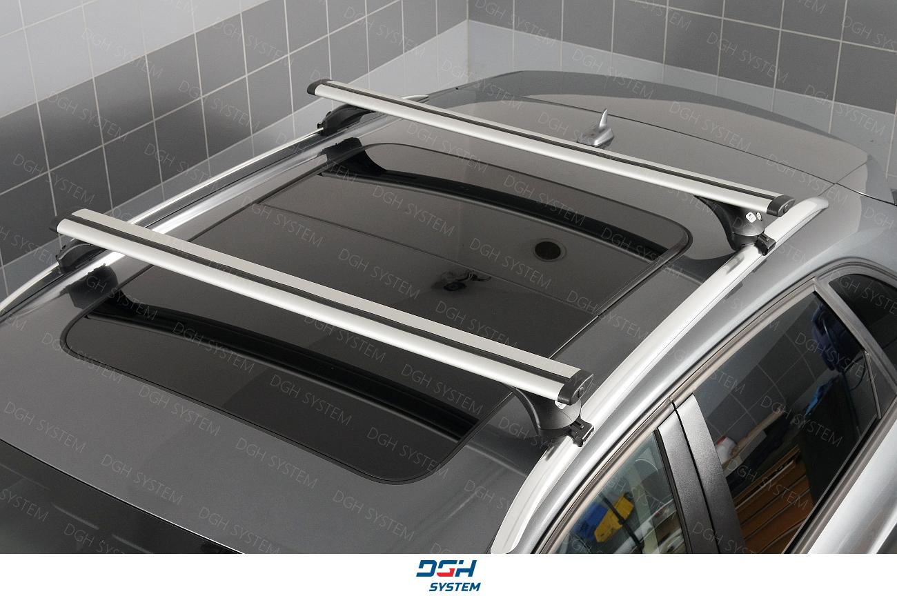 Für Seat Ateca SUV 16 MENABO Dachträger Tema Stahl schwarz Neu Dachgepäckträger