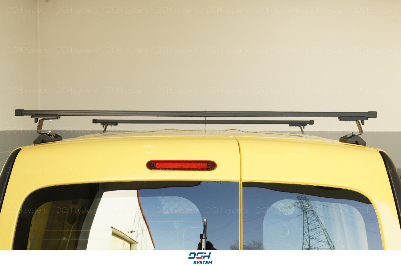 Dachträger Für Nissan NV200 09 mit Fixpunkten Stahl Schwarz 140cm